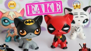 WEIRDEST FAKE LPS EVER!?    Superhero Cats (Fake Littlest Pet Shop)    LPS Mail Time ❤