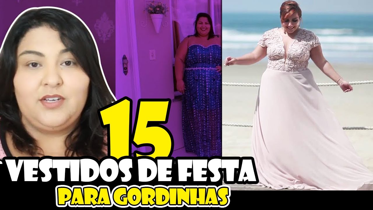 89c8bc07b Vestidos de festa para gordinhas - 15 modelos plus size - YouTube