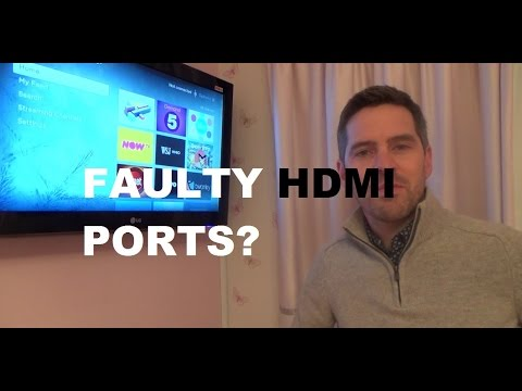 How to Still use HDMI equipment on a TV with Broken HDMI Ports