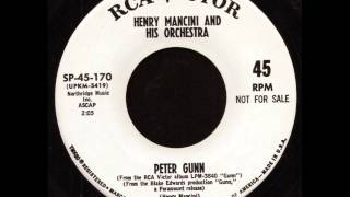 Henry Mancini - Peter Gunn (Single Version) on RCA Records