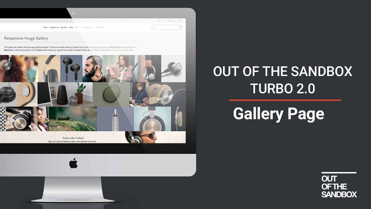 Out of the Sandbox - Turbo 2.0 Gallery Page - YouTube