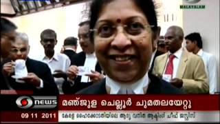Hon'ble Mrs. Justice Manjula Chellur in Kochi HC