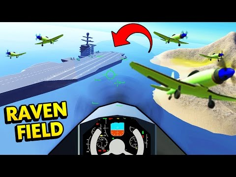 RAVENFIELD STEAM UPDATE W/ PLANES & AIRCRAFT CARRIER! (Ravenfield Early Access Funny Gameplay)