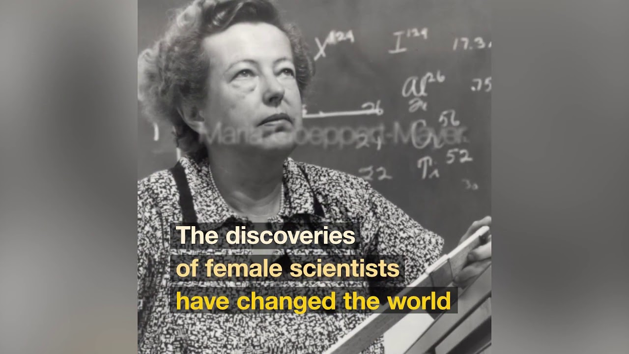 The World Needs Science and Science Needs Women