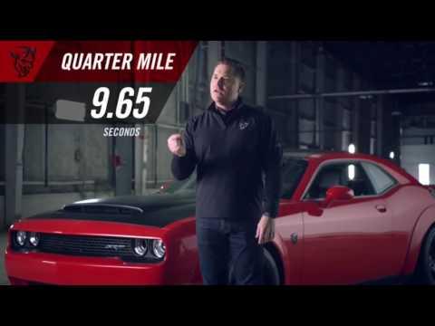 2018 Dodge Challenger SRT Demon 840HP FASTEST CAR IN THE WORLD HD