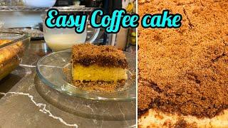Quarantine cooking Easy Classic Coffee Cake!