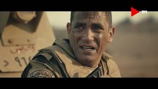 """ملحمة تاريخية 🔥 لـ القائد """"المنسي"""" هو وجنودنا أثناء التصدي للإرهاب في أحد الكمائن بالعريش #الاختيار"""