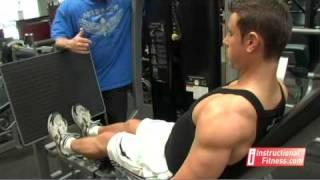 Instructional Fitness - Seated Calf Raises