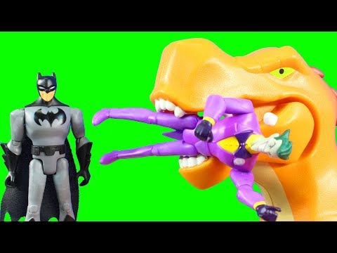 Justice League Power Connects Toy Review Batman Joker Superman  Batcopter Playing With Toys Battle
