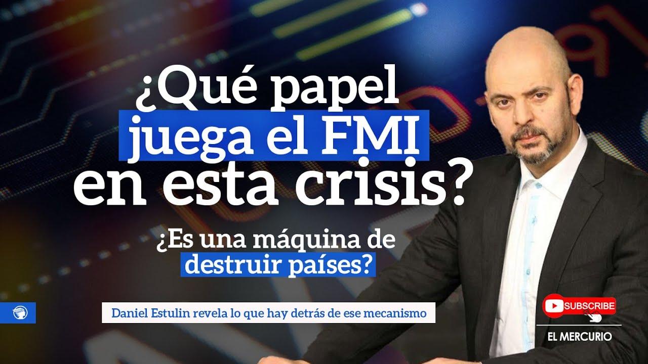 ¿Qué papel juega el FMI en esta crisis?, ¿Es una máquina de destruir países? con Daniel Estulin