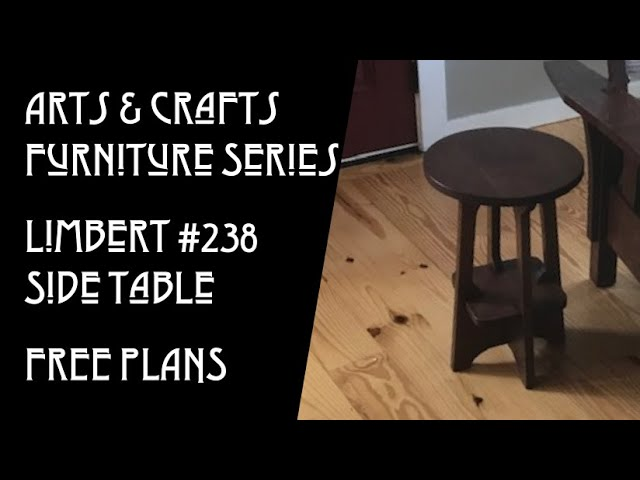 New Video:  Building the Arts & Crafts Stickley 238 Table