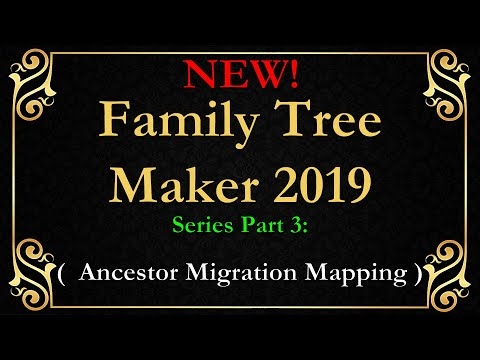 FTM 2019 family tree maker Mapping for Clues