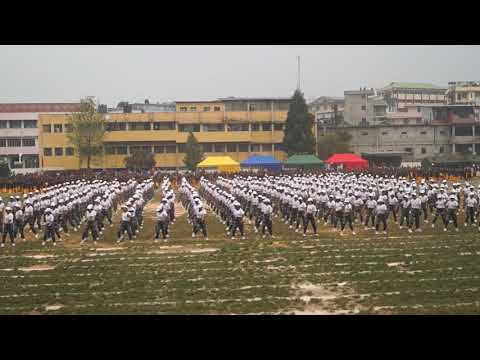 St Mary's Class 12 Drill (Shillong)- Choreographed by Risaka Nancy Pyrbot