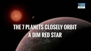 Scienza. La Nasa scopre 7 pianeti simili alla terra