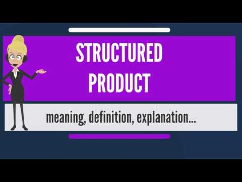 What is STRUCTURED PRODUCT? What does STRUCTURED PRODUCT mea
