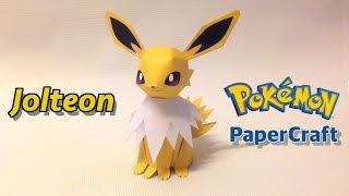 How to make Jolteon Pokemon PaperCraft