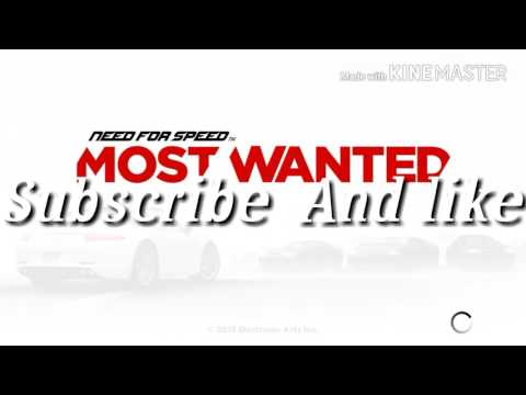 Need For Speed Most Wanted Game Play With  SRT