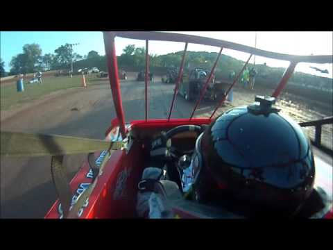 ZACH WIGAL GIBBYS HEAT RACE OHIO VALLEY SPEEDWAY 9 24 16