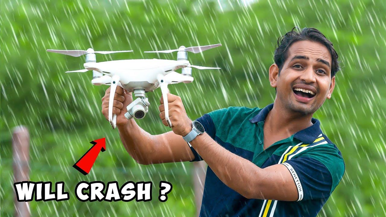 Will Drone Fly In Rain Or Crash - क्या बरसात में ड्रोन उड़ पायेगा ?