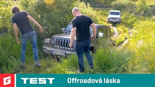 JEEP WRANGLER Rubicon vs SAHARA Unlimited - TEST - GARAZ.TV