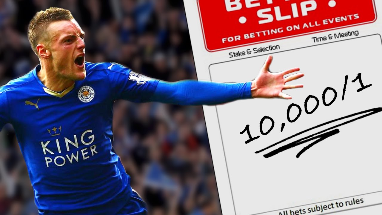 bets on leicester to win the league