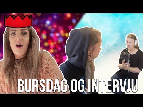 BURSDAG&INTERVJU|vlogg 6.april
