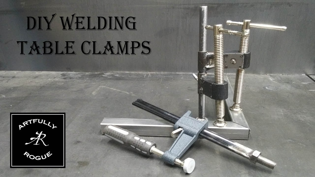 Welding table block clamps Welding table
