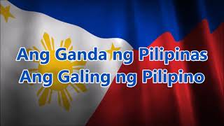 Philippines 2018 Independence Day | ALL STARS Biyahe Tayo with Lyrics | BF Channel