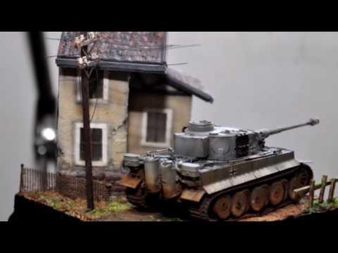 Tiger Tank 1 72 Pocket Diorama Fun Build