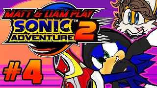 """Matt & Liam Play Sonic Adventure 2 - """"Knuckles Is NOW More Deadly!"""" (Part 4)"""