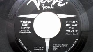 Wynton kelly - If that