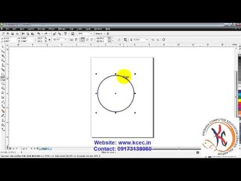 coreldraw tutorial in hindi full 4 corel draw pen tool