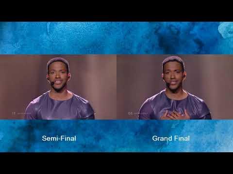 Cesar Sampson - Nobody But You - Semi Final - Grand Final  - Eurovision 2018   Austria