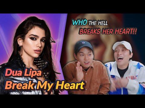 K-pop Artist Reaction Dua Lipa - Break My Heart