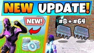 Fortnite Update: DARK VERTEX SKIN Bundle, V-Bucks, v9.10 Details! - 8 New Things in Battle Royale!