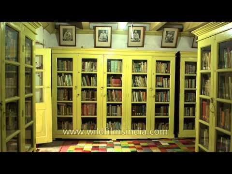 Room where Swami Vivekananda stayed in 1901
