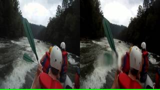 "3D Ocoee River Whitewater Rafting 3 ""Staging Eddy"""