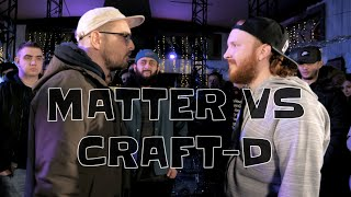 MATTER VS CRAFT-D | Don't Flop Rap Battle