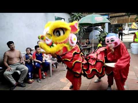 mua lan Tay Ninh 2016 / Lion dance in Tay Ninh 2016