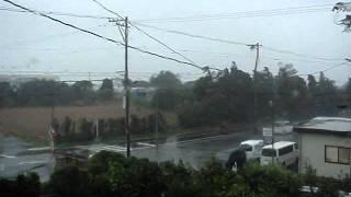 平成23年 台風15号 静岡県西部