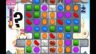 Candy Crush Saga level 697 (3 star, No boosters)