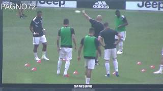 JUVENTUS Vs Sassuolo   Warm Up