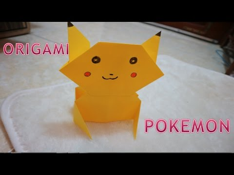 Gamers On Board - Paper Pokemon - Origami Charizard Tutorial ... | 360x480