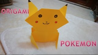 origami pokemon-how to make an origami pikachu easy and fun