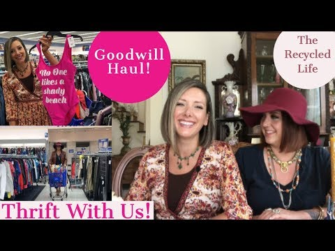 Thrift With Us! Goodwill Haul   The Recycled Life   Vintage Home   Mid Century Modern   Fashion