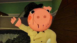 ROBLOX PIGGY NON INFECTED DETECTIVE PIGGY JUMPSCARE - Roblox Piggy RolePlay
