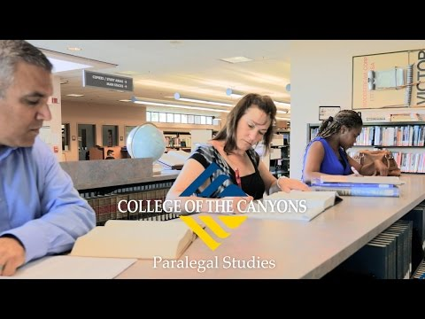 Paralegal Studies | College of the Canyons