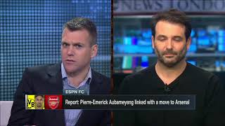 Why is Aubameyang unlikely to join Arsenal this January? - ESPN FC