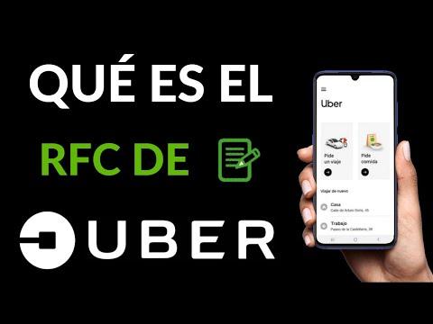 Qué es el RFC de UBER - UBER FACTURAS