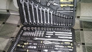 Обзор на набор инструментов Berger 151 предмет